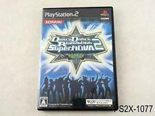 Dance Dance Revolution Supernova 2 Playstation 2 Japanese Import DDR JP PS2 B