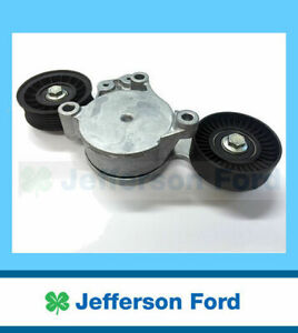 Genuine Ford Drive Belt Tensioner & Pulleys Assembly