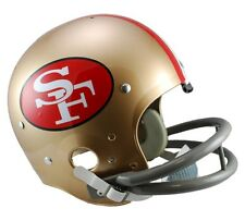 SAN FRANCISCO 49ERS 64-88 TK THROWBACK FULL SIZE FOOTBALL HELMET