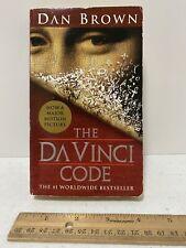 The Da Vinci Code by Dan Brown Paperback 2003