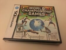 World Championship Games: A Track & Field Event (Nintendo DS, 2009) DS NEW!