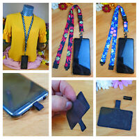 Universal Neck Lanyard Strap For Mobile Phone Case with Unique Patch Tab