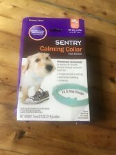 SENTRY Calming Collar for Dogs, Up to 23-Inch Neck, Includes 3 Collars