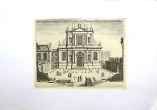 Burin, Marot, Eglise des Religieuses Feuillantines, Faubourg St Jacques, 17ème