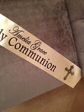 PERSONALISED HOLY COMMUNION FIRST HOLY COMMUNION BANNER