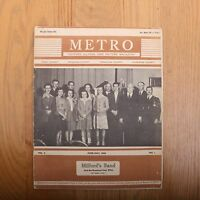 Metro Eastern Illinois Own Picture Magazine June July 1942 Vintage Local