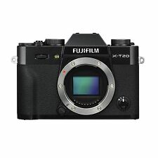 Fuji Fujifilm X-T20 Body Only (Black) & FREE Extra Fuji Battery *NEW*