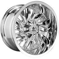 20x9 Chrome Wheel RBP 75R Battalion 5x150 0