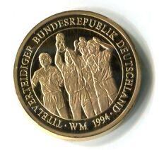 Medaille World Cup United States 1994 Titelverteidiger Deutschland M_350