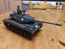 1/35 Segunda Guerra Mundial M41 Walker Bulldog americano medio tanque, construido y bien pintados