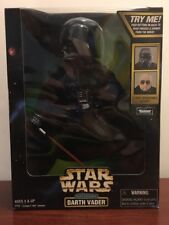 """Star Wars 12"""" inch figure ELECTRONIC DARTH VADER w/ removable helmet (1998)"""