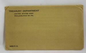 1956 United States Mint Proof Set in Original UNOPENED Brown Mint Envelope