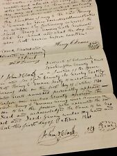 AMERICAN LEGAL DOCUMENT 1860