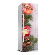 3D Wall Fridge Sticker Magnet Decor Refrigerator Wall Mural Christmas apples