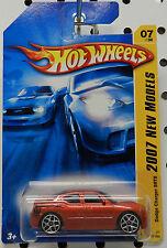 DODGE BOYS SCAT PACK CHARGER SRT8 2007 07 RED BRONZE SUPER BEE HW HOT WHEELS