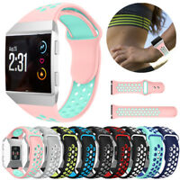 For Fitbit Ionic Sport Smart Watch Band Silicone Strap Soft Replace Bracelet HOT