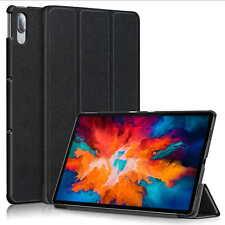 Space Negro Funda Para Lenovo P11 11in Funda de Tableta Piel Soporte