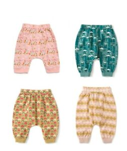 Little Green Radicals Lightweight Jelly Bean Joggers trousers 0 3 6 9 12 Organic