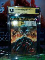 Tales From The Dark Multiverse Batman Knightfall  CGC SS 9.8 Quah   Variant