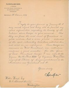 A Danish scholar writes to American ethnologist Walter Hough re. Eskimo lamps