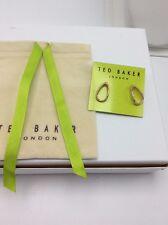 Earrings Rose Gold. A236 $49 Ted Baker Texture Hoop