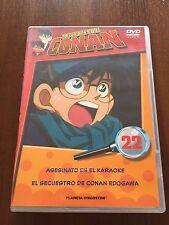 DETECTIVE CONAN DVD 22 - 1 DVD - 2 CAPS - 50 MIN - JONU MEDIA PLANETA DEAGOSTINI