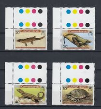 TIMBRE STAMP 4 ILES CAYMANS Y&T#474-77 TORTUE LEZARD NEUF**/MNH-MINT 1981 ~B66