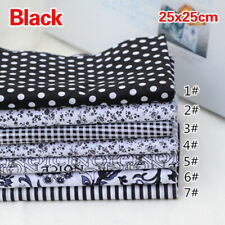 7Pcs Quilting Bundle Patchwork Cotton Fabric handmade Diy Sewing Crafts Floral