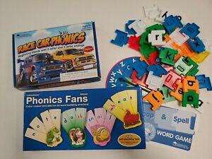 Lakeshore Learning Resources Phonics Long Vowels Blends LOT 1st K