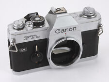 CANON FTb QL CHROME BODY, OVER-SENSITIVE METER, BROKEN SHOE/188384
