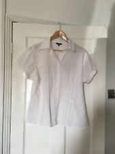 Papaya Size UK 20 White Short Sleeve Shirt.  (m5)