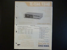 Original Service Manual Sony TC-FX44 FX44B