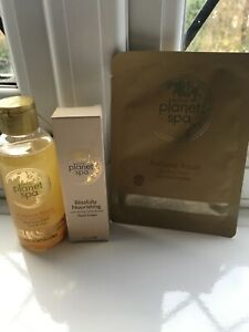 Avon Planet Spa oil, Hand cream & face mask