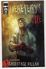 TWELVE REASONS TO DIE #3 LOT (9) NM Black Mask GHOSTFACE KILLAH WU-TANG Clan