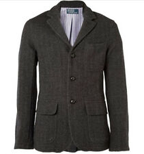 Ralph Lauren Polo Herringbone 100% Wool Blazer - Size MEDIUM - $795 MSRP
