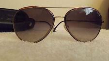 Gafas de sol Police S829958 0H60, Marco De Bronce, púrpura Lente de gradiente