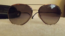 Police S829958 0H60 Aviator Sunglasses, BRONZE Frame, Purple Gradient Lens