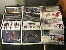 Transformers Masterpiece MP-15 Rumble and Jaguar (Ravage) Instructions