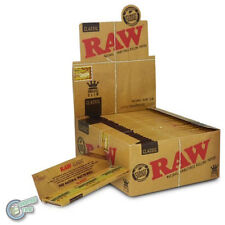 2500 Raw King Size Kingsize Slim Classic Rolling Papers - Box Of 50