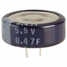 Suntan DB-5R5D474T 0.47 F 5.5 V 5 mm Memory Backup Capacitor