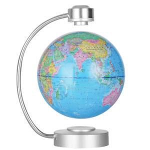 8 Zoll Magnetic Floating Globe Levitation Weltkarte für Bildungsgeschenk blau
