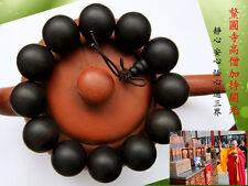 HaiNan 20 mm Agarwood Aloewood Buddhism Mala Meditation Prayer beads 水沉香#2181