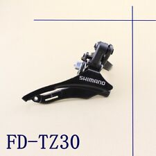 Shimano Tourney Fd-tz30 7/6 42t Front Derailleur Bike Bicycle Parts Metal