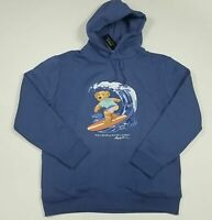 Ralph Lauren Limited Edition Surfing Polo Bear Hoodie Sweater Men's SZ 2XL
