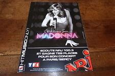 MADONNA - Flyer !!! CONFESSIONS TOUR !!!