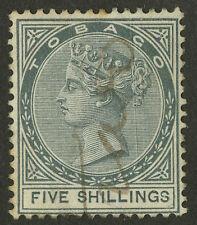 Tobago   1879  Scott # 5   USED