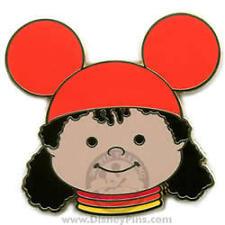 Disney WDW Mystery Small World Girl Orange Ears Pin