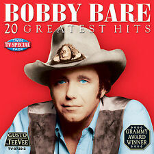 "BOBBY BARE, CD ""20 GREATEST HITS"" NEW SEALED"