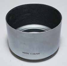 Leica Leitz Wetzlar M Camera Visoflex Hektor 125/2.5 Chrome Lens Hood HKMOO