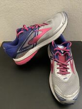 Women's Brooks Ravenna 8 Running Shoes Sneakers Size 9.5 M Gray Pink Blue